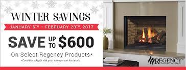 regency promo winter 2017 fireplace depot