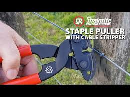 Strainrite Staple Puller With Cable Stripper Youtube