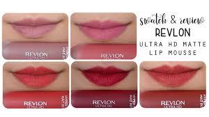 revlon ultra hd matte lip mousse swatch