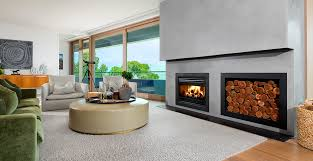 indoor open wood fireplaces built in