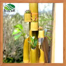 china natural bamboo flower vase