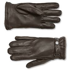 mens leather and cashmere gloves orvis