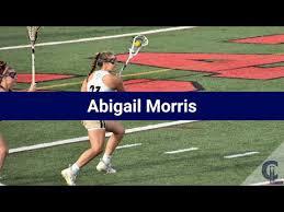Abigail Morris Lacrosse Highlights - CT 2022 - Att - YouTube