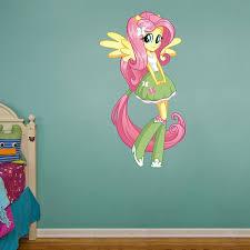 Fluttershy Equestria Girls My Little Pony Kids Girls Wall Decals Kids Room Wall Decals Pony Wall
