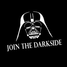 Amazon Com Join The Darkside Darth Vader 8 Vinyl Sticker Car Decal 8 White Automotive