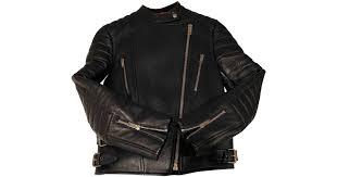 céline leather biker jacket in blue lyst