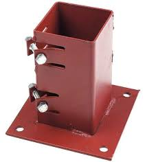 Fence Spikes And Bolt Down Post Supports Avs Fencing Supplies