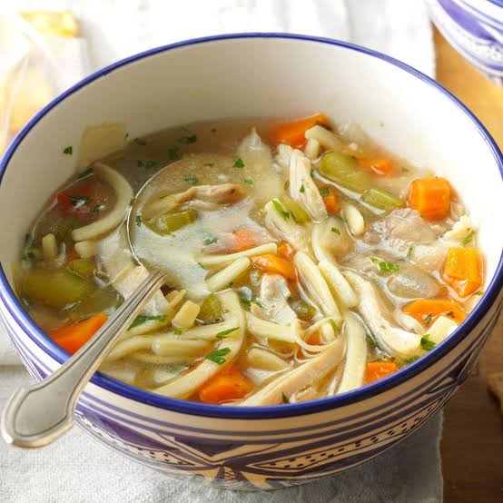 recipe of chicken noodle soup