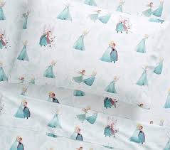 disney frozen kids sheet set pottery