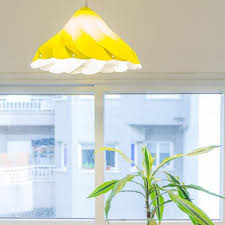 Meringue Kiss Lamp Yellow Kids Bedroom Lighting Unique Home Decor Ideas By Studio Shapemixer