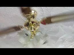 brass retro fan from argos