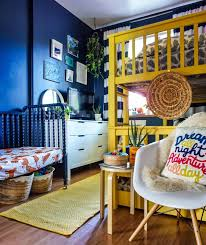 Eye Catching Bright Bohemian Tropical Inspired Shared Kids Bedroom Tfdiaries By Megan Zietz