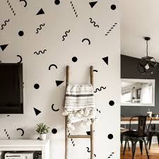 Set Of 25 Vinyl Wall Art Decal 90 S Patterns 1 6 To 4 Each Sticker Adhes For Sale Online