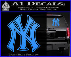 New York Yankees Logo Decal Sticker A1 Decals