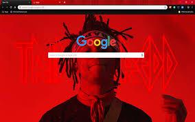 custom trippie redd google chrome theme