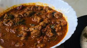 soya chunk curry in kerala style beef
