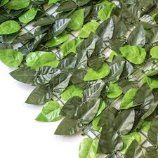 Artificial Leaf Privacy Fence For Decoration Garden Artificial Ivy Green Leaf Mat Wall Panels For Decoration Outdoor Walkway Wholesale Garden Buildings Products On Tradees Com