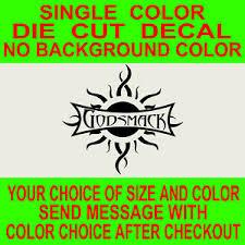 Godsmack Band Rock Music Vinyl Decal Car Truck Window Mirror Laptop Sticker Ebay