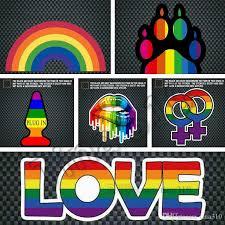 Newest Window Stickers Rainbow Gay Sticker Pride Rainbow Heart Sticker Bear Paw Rainbow Hand Night Reflective Car Decorative Stickers 4742 Inside Window Stickers Large Car Window Decals From Tina310 0 73 Dhgate Com