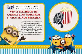 Ven A Celebrar Tu Cumple Con Nosotros Www Cinemeseixmacia Com