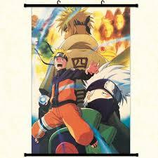 Amazon.com: Raleighsee Naruto Anime Hanging Paintings Cartoon ...