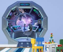 Wall Ah Spaceship Escape Pod Wall Decal Wayfair