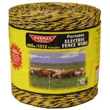 Baygard By Parmak Electric Fence Wire 1313 Ft L Electric Fence Wire Fence Electricity