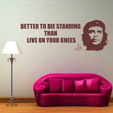 Art Vinyl Decal Che Guevara Quote Wall Decal Living Room Bedroom Decoration Vinilos Wall Sticker Vintage Adesivo Ny 337 Quote Wall Decal Wall Stickerwall Sticker Vintage Aliexpress