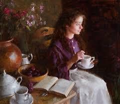 Tea and Sympathy by Morgan Weistling on artnet