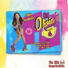 Invitacion Soy Luna Fiestas De Soy Luna Festivos Y