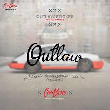 Outlaw Sticker Car Wraps Decals Liveries Window Body Ebay