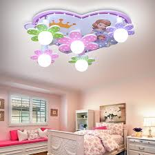 Kid Room Light Fixture Led Cute Bedroom Light Princess Lamp Kid Room Ceiling Light Lamp For Girls Room Children Bedroom Lighting Thefashionique