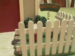 Fence Made From Popsicle Sticks Members Gallery The Greenleaf Miniature Community
