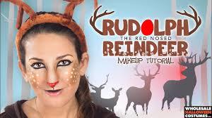 reindeer makeup tutorial whole