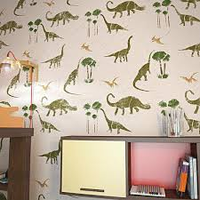 Dinosaurs Wall Stencil For Kids Room Decor Nursery Wall Stencils Stencilslab Wall Stencils