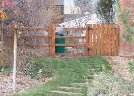 Gates Farmhouse Landscape Denver By Split Rail Fence Co Denver Co