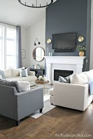 tall fireplace wall transformation with
