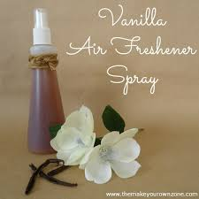 vanilla air freshener spray