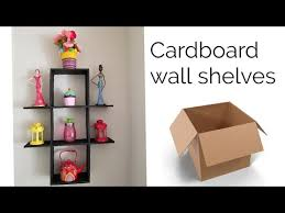 diy cardboard shelves best out of