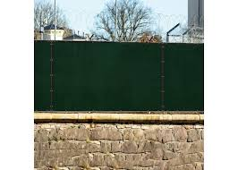 Dark Green 8ft X 25ft Polyethylene 150gsm Privacy 88 Fence Screen Windscreen4less