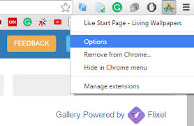 live wallpaper to google chrome new tab