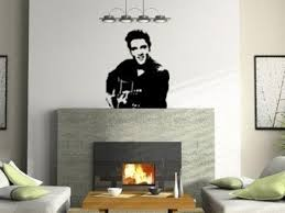 Elvis Decal Elvis Wall Sticker Music Decal Vinyl Wall Etsy