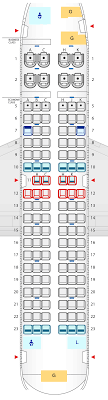 seat map of boeing 737 700 seat map