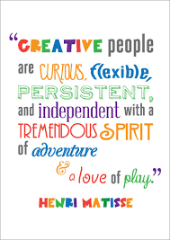 early learning resources inspirational quotation poster henri matisse