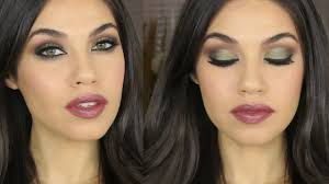 green brown smokey eye makeup