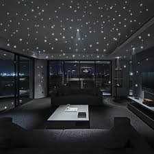 407pcs Kids Bedroom Beautiful Fluorescent Glow In The Dark Stars Wall Stickers Home Decor Wish