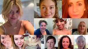 no makeup selfie cancer number
