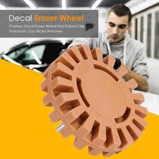 Pinstripe Decal Eraser Wheel Pad Rubber Disk Pneumatic Car Sticker Remover Buy At A Low Prices On Joom E Commerce Platform