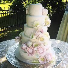 Romantic garden Wedding Cake for Hillary... - Honey Bee Bakery | Facebook