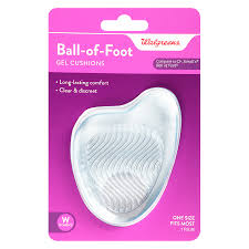 walgreens ball of foot gel cushions
